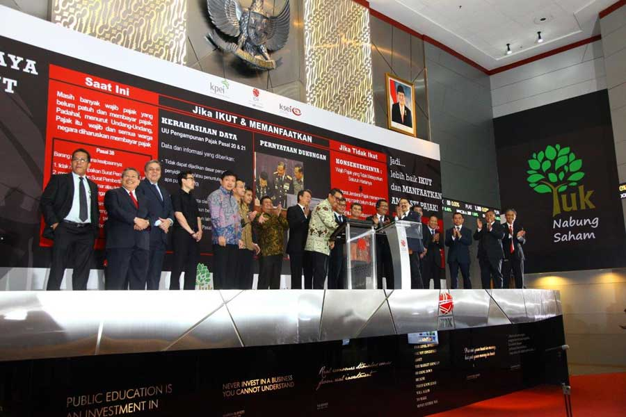 BEI Gelar IDX Top Ten Blue 2016