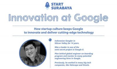Technical Program Manager Google Motivasi Startup Surabaya