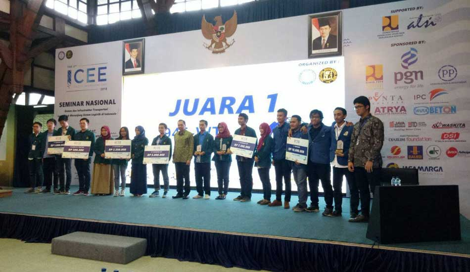 ITS Juarai ITB Civil Engineering Expo