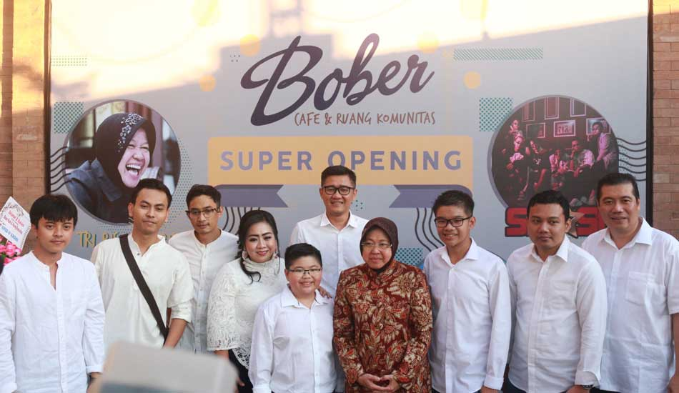 Wali Kota Risma Apresiasi Co-Working Space di Bober Cafe