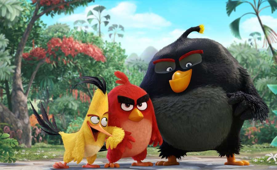 Angry Birds The Movie Jungkalkan Captain America: The Civil War