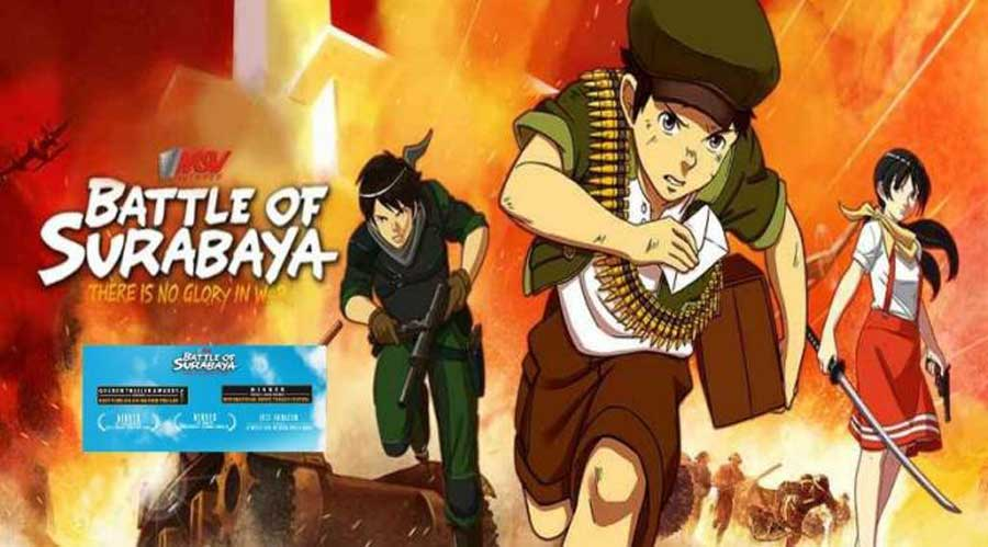 Film Animasi Battle of Surabaya Laku Dijual di Murse du film