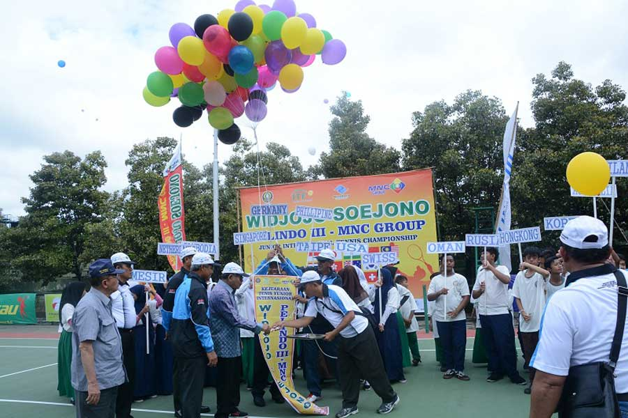 400 Petenis Ramaikan International Junior Championship Widjojo Soejono Cup