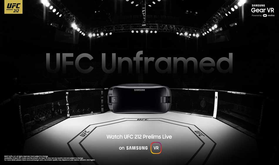 Samsung Gear VR Gandeng UFC, X-Games dan Live Nation