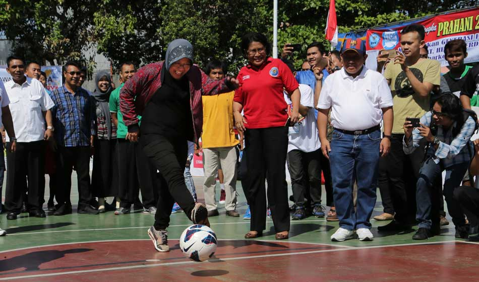 Risma Buka League of Change 2017 buat Mantan Pecandu Narkoba