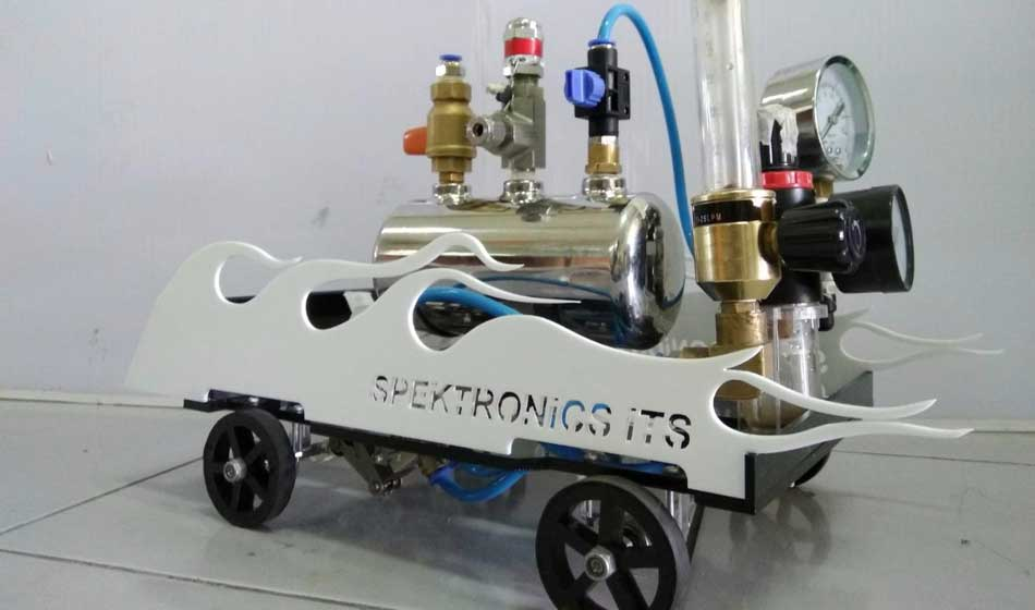 Spektronics ITS, Wakil Indonesia Pertama di AIChE Chem-E-Car Competition AS