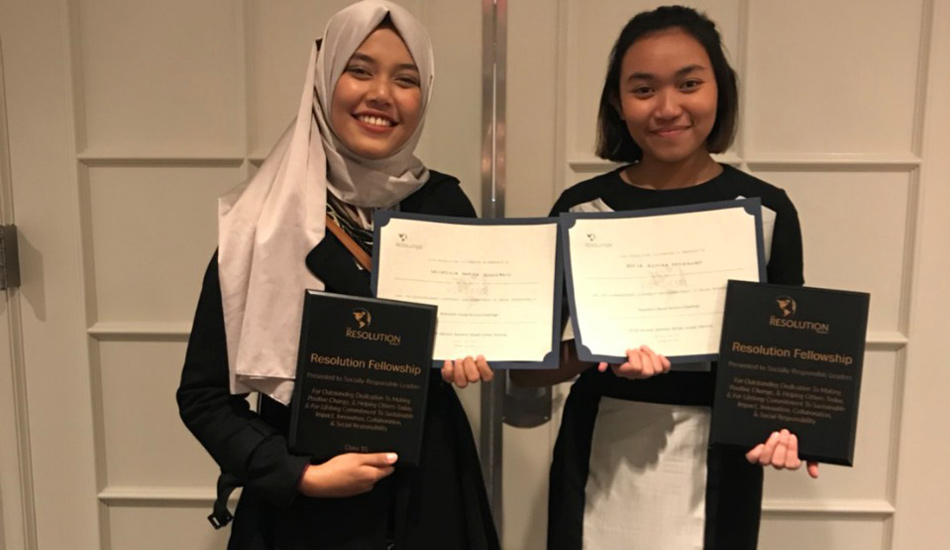 Dua Mahasiswa ITS Raih SVC Award di Harvard AS