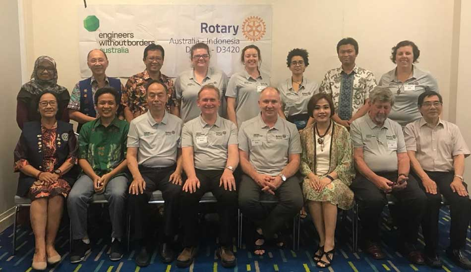 Gandeng Rotary Australia, ITS Motori Gerakan Water, Sanitation, and Hygiene