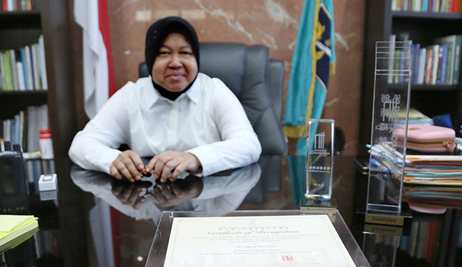Raih The Guangzhou International Award, Risma: Terima Kasih Warga Indonesia