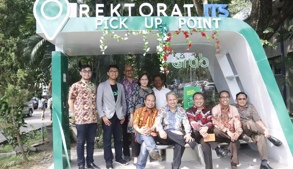 Gandeng Grab, Hadirkan Smart Shelter di ITS