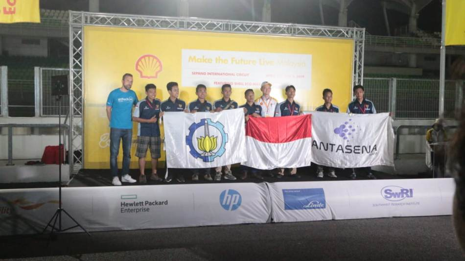 ITS Borong Trofi Shell Eco-Marathon Asia 2019