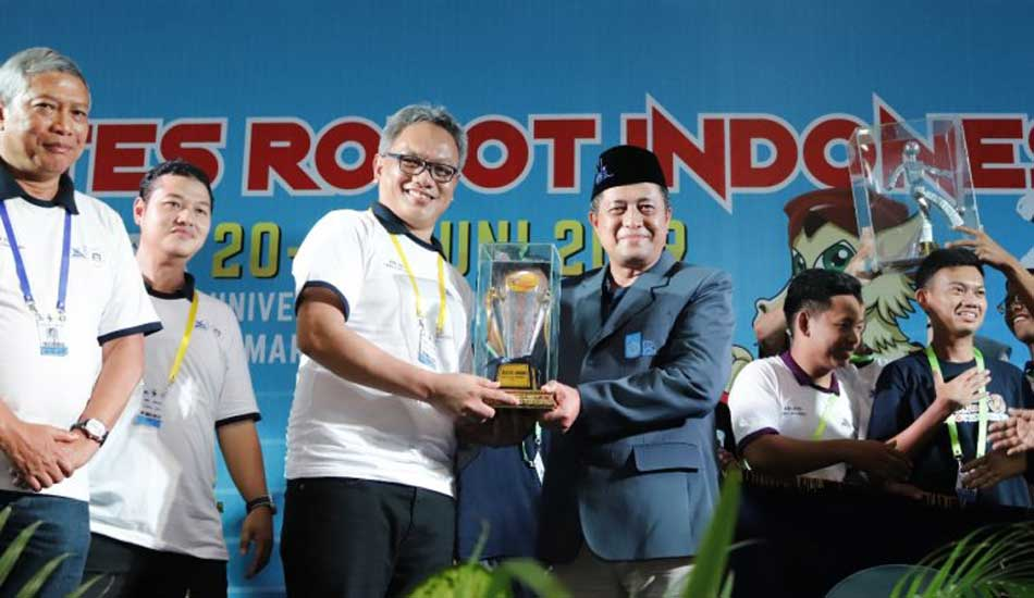 ITS Juara Umum Kontes Robot Indonesia 2019