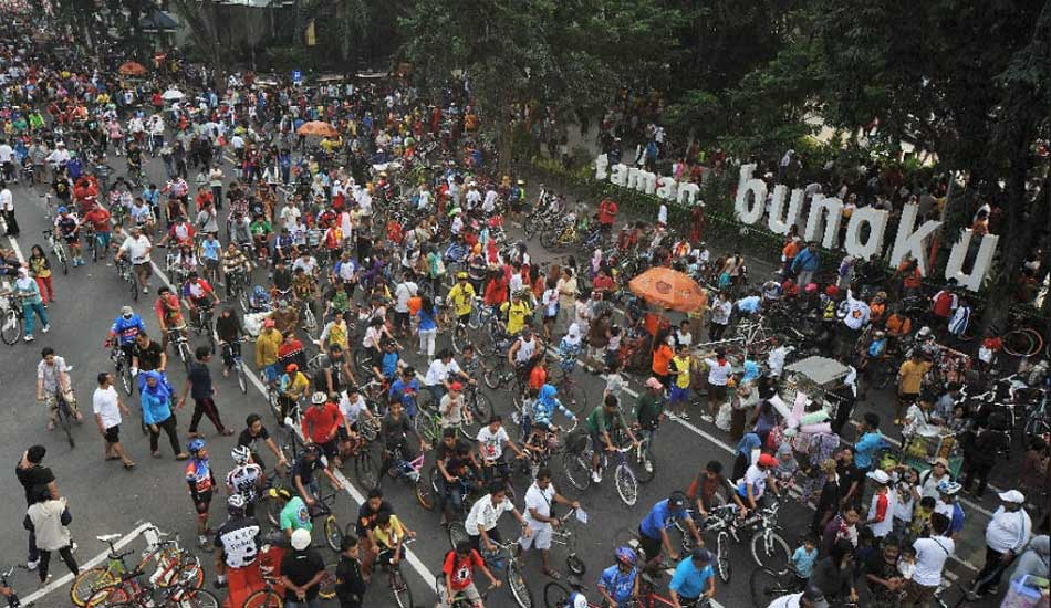 Idul Adha, Car Free Day Diliburkan