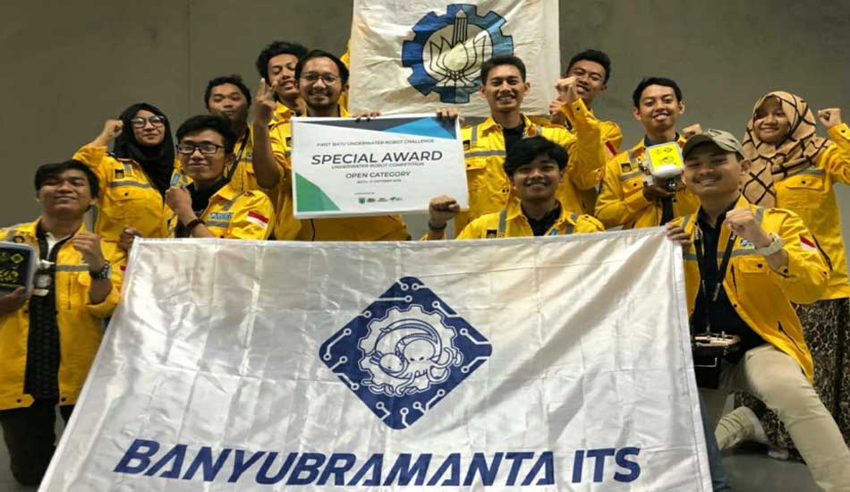 Tim Banyubramanta ITS Raih Special Award