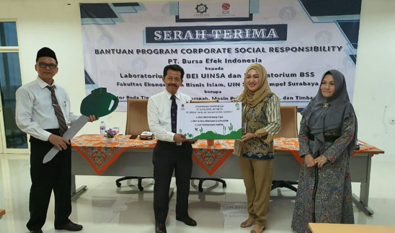 BEI Luncurkan Program Nabung Saham Modal Sampah