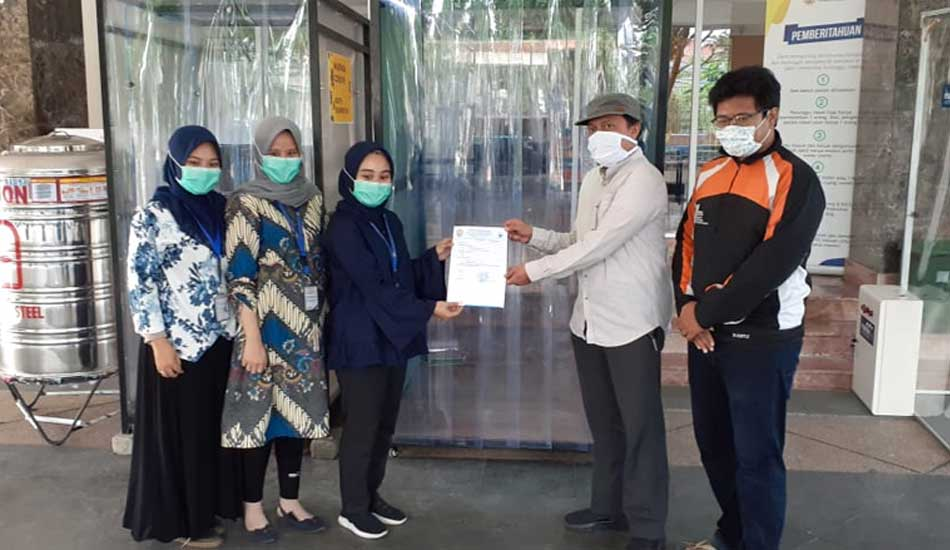 ITS Pasok Disinfection Chamber ke RSUA